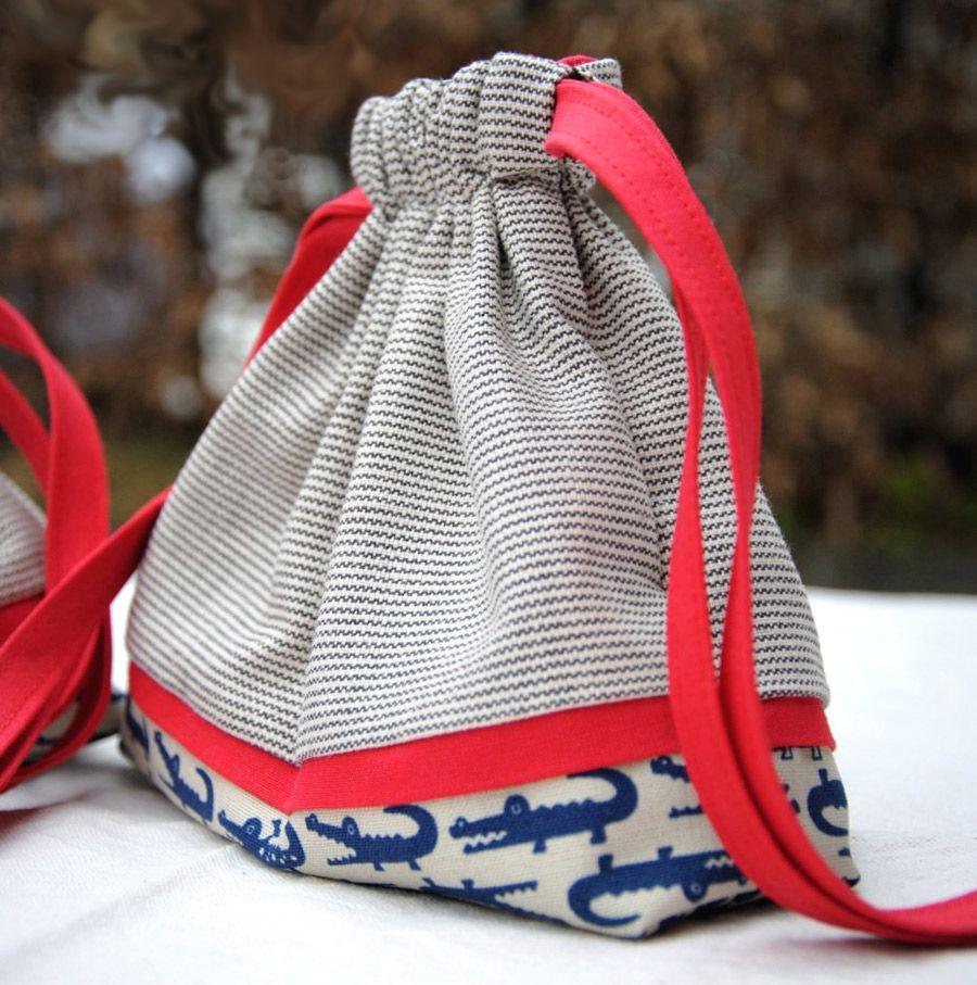 Drawstring Bag Pouch Tutorial | crafty creations | Pinterest ...