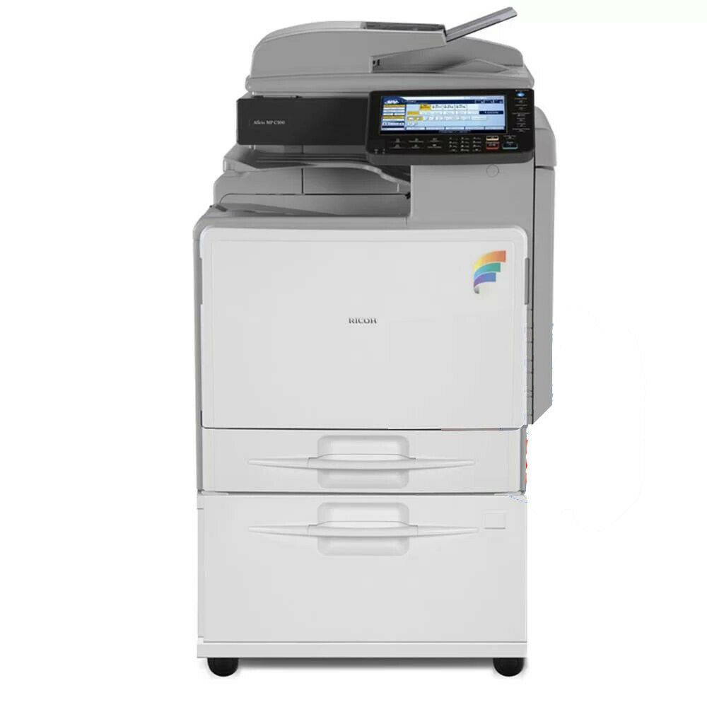 Ricoh Mp C300 Color Laser Multifunction Printer In 2020 Multifunction Printer Printer Best Printers