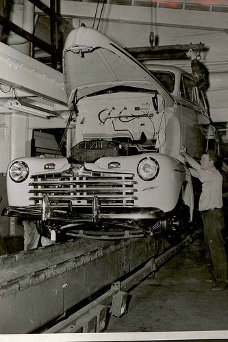 River Rouge Assembly Line 1946