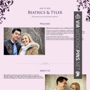 So Cool Sample Wedding Website