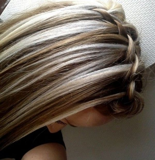 Chocolate Brown Hair With Chunky Blonde Highlights Regarding Chunky Blonde Highlights Brown Blonde Hair Blonde Highlights