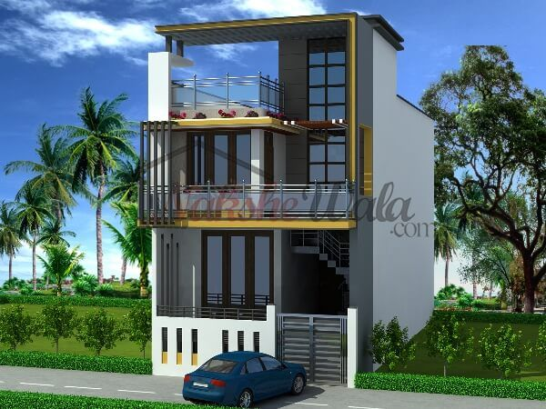 Home Design India Small Size Share Online Bed Room House Front
