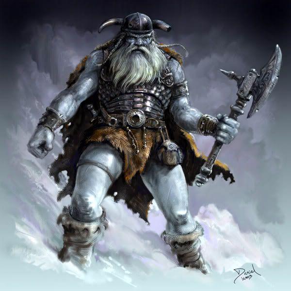 Frost Giant | Alternate DIY Pathfinder Pawn Art | Pinterest | RPG ...