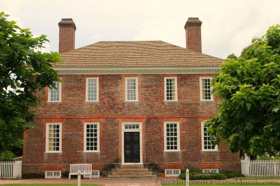 Homes of Colonial Williamsburg Va Colonial williamsburg Colonial
