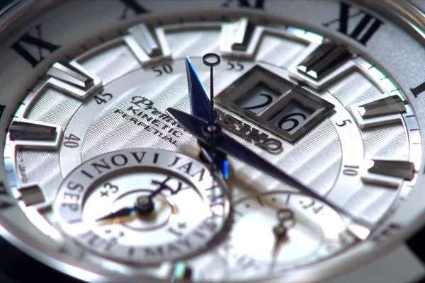 đồng hồ kinetic