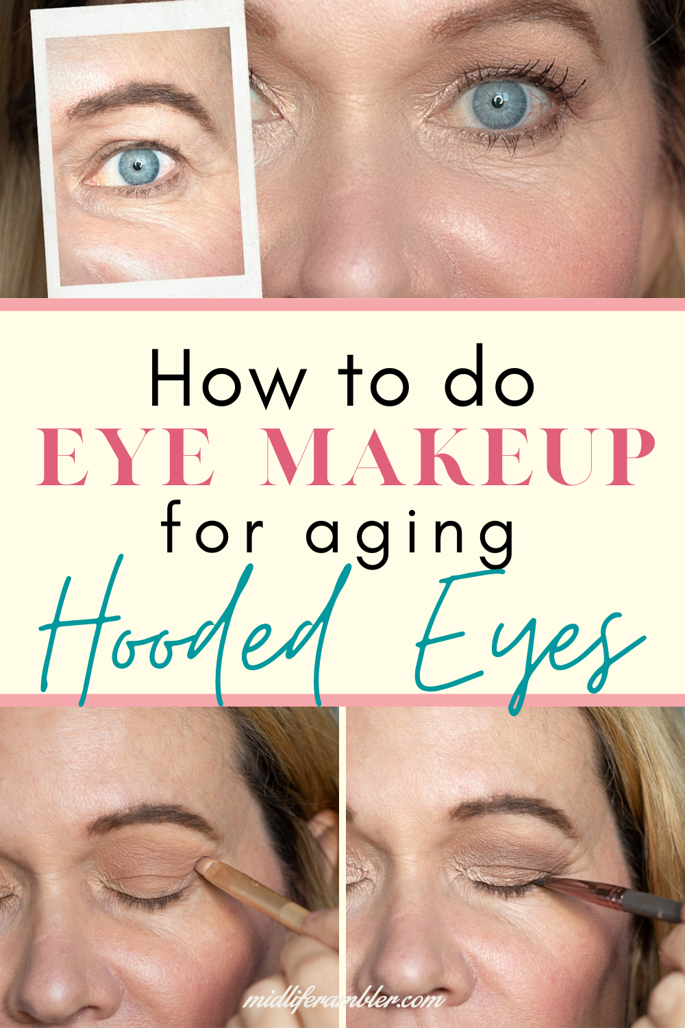 How to Master Your Eye Makeup for Hooded Eyes