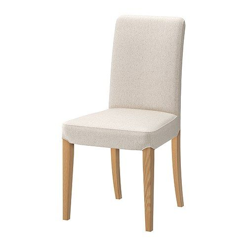 henriksdal chaise ikea dossier haut et assise rembourr e avec garnissage polyester pour un. Black Bedroom Furniture Sets. Home Design Ideas