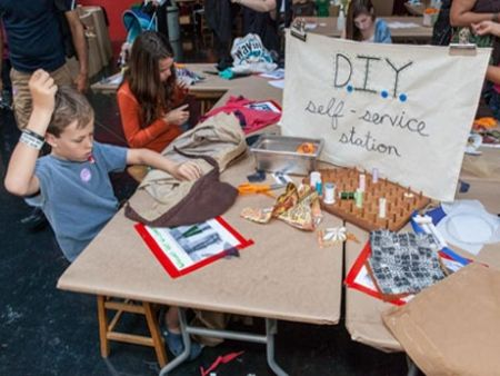 Upcycling And The Low Tech Makerspace Students