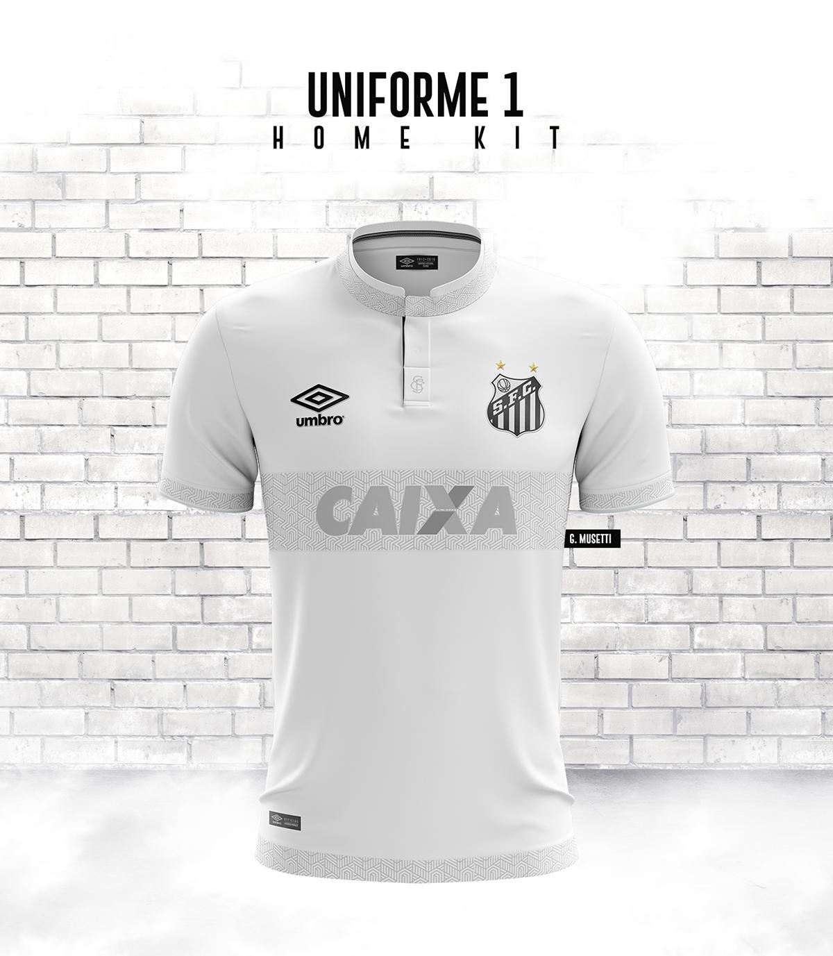 Download Santos F.C. - Umbro Concept Kit 2019 on Behance | Santos ...