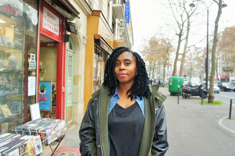 Fashion Hood: Fatima and locks dressed in yarn twists