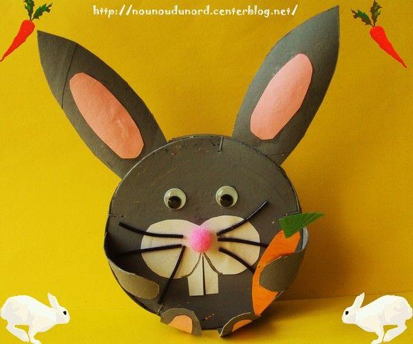 Super Lapin de Pâques réalisé avec une boîte de camembert, explications  RH62