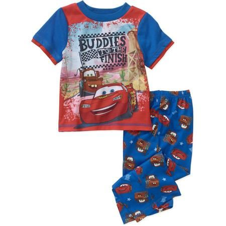 a3cde97cc Disney Cars Baby Toddler Boy Short Sleeve Sleepwear Set