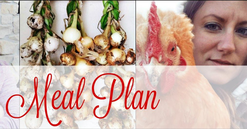 The Sustainable Couple: Week of 7/4 - Urban Homestead Meal Plan