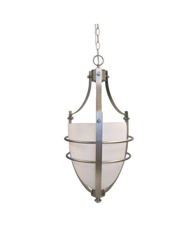 Epiphany Lighting 102502 BN One Light Pendant Chandelier In Brushed Nickel  Finish | Quality Discount Lighting Awesome Design