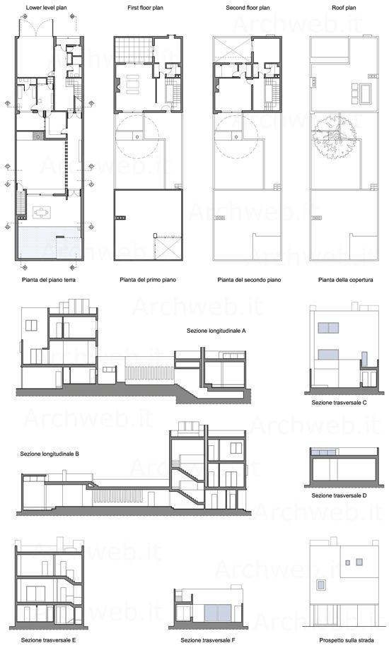 Piante Da Appartamento Dwg.Gilardi House Dwg Progetto Di Luis Barragan Luis Barragan