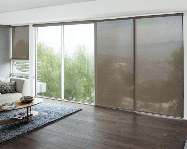 Solar Roller Shades 17280 Roller Shades Living Room Sliding