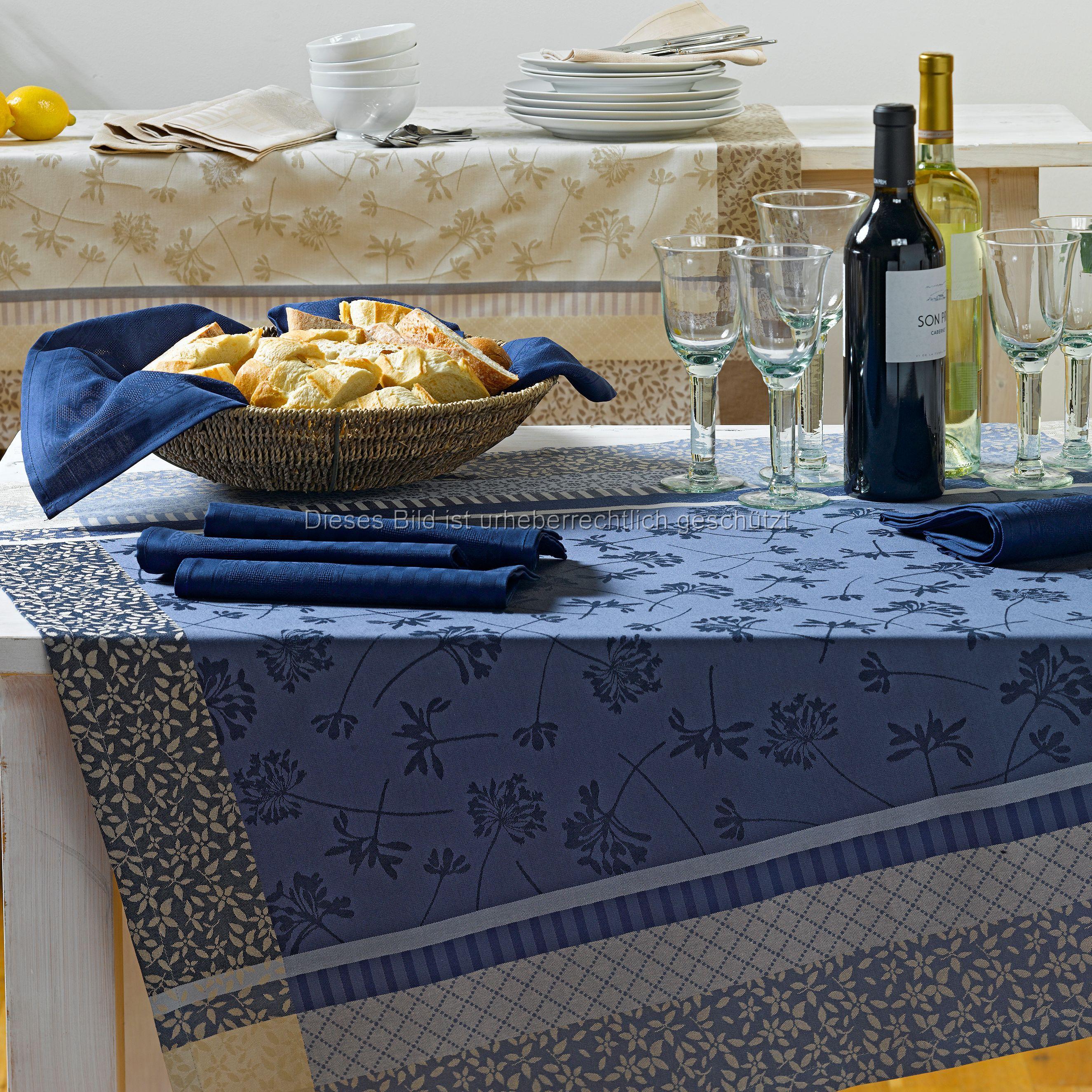 Einfach chic: Tischdecke AVIGNON im französischen Jacquardstil. Von Sander.