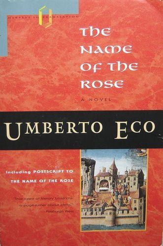 week 6 - The Name of the Rose: Umberto Eco