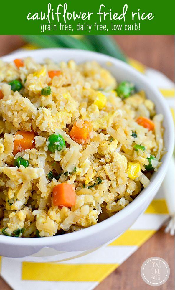 Photo of Cauliflower Fried Rice