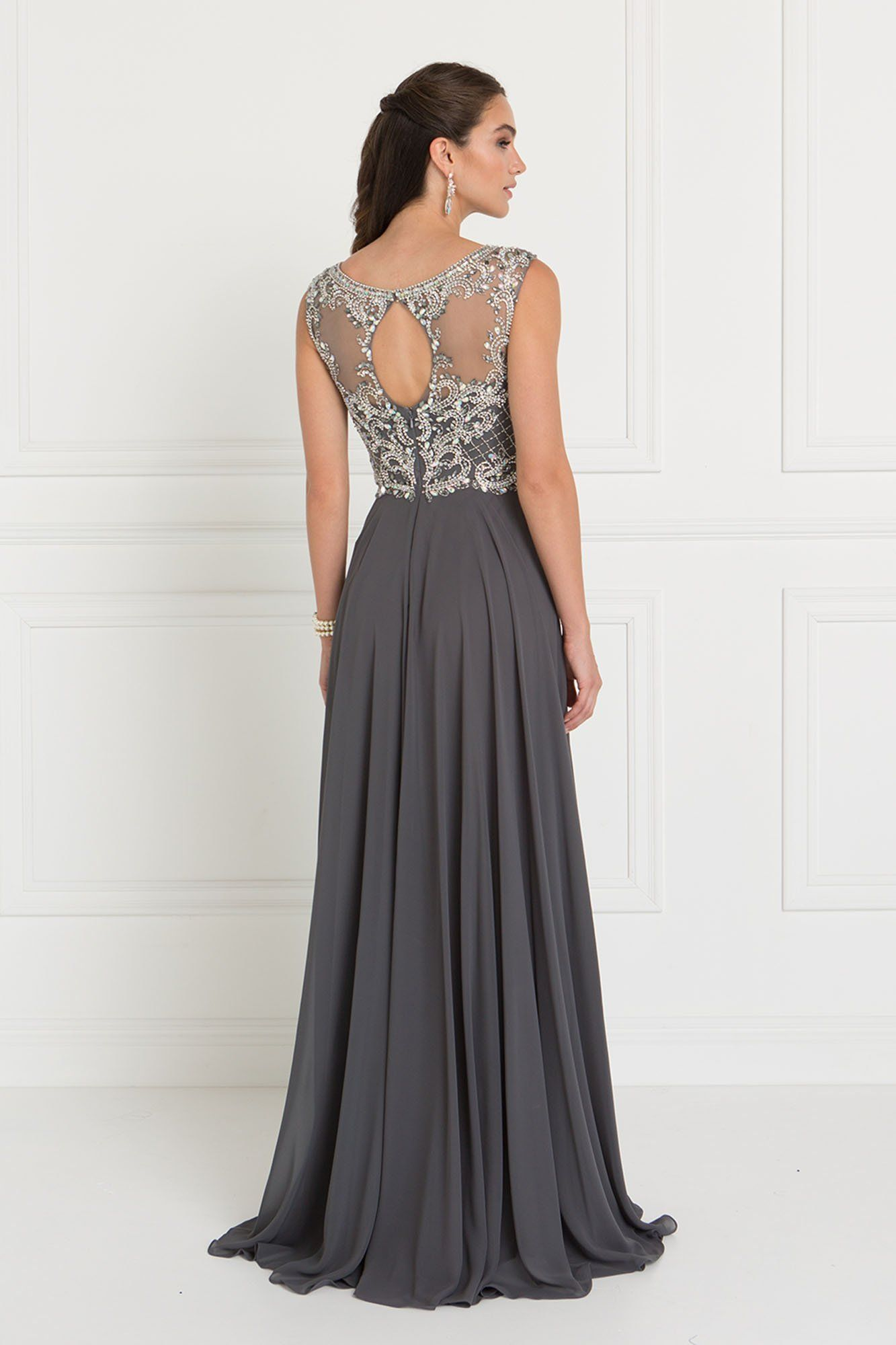Long prom evening gown gls s in products pinterest