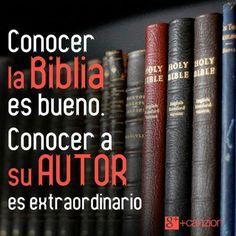 Lo extraordinario de conocerte Dios!