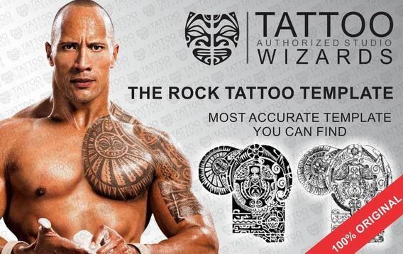 Dwayne johnson the rock complex tattoo hollywood tattoos tattoo altavistaventures Choice Image