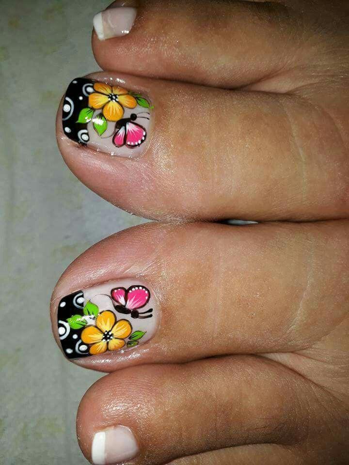 Pin De Blanca Barrantes En Mi Maquillaje Nails Nail Art Y Toe Nails