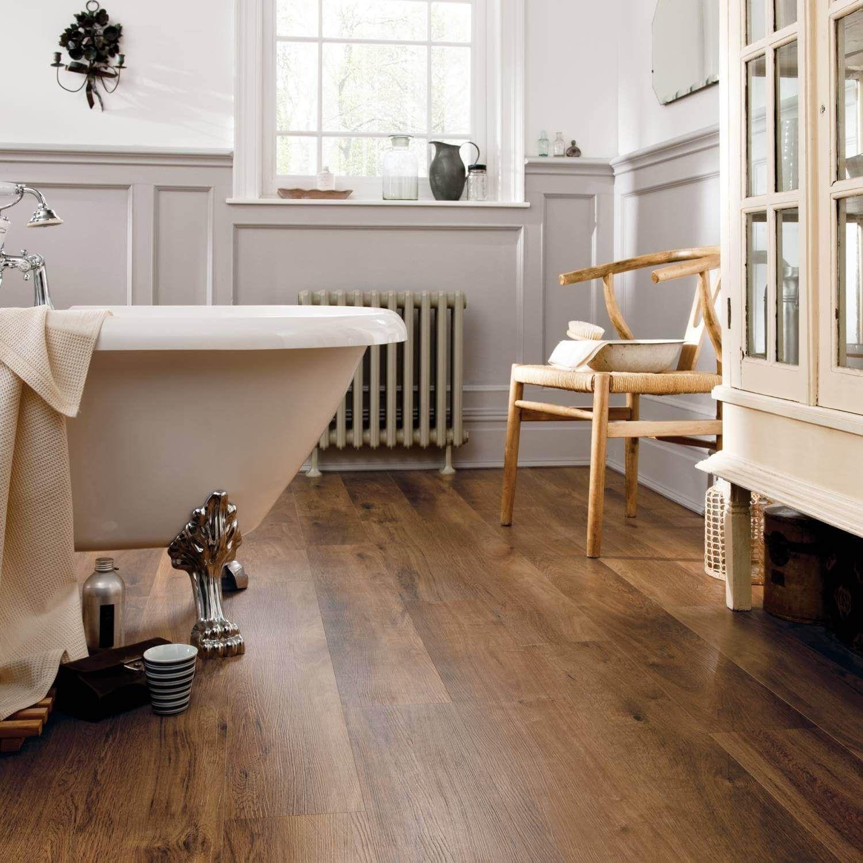 Panele Winylowe Designflooring Van Gogh Classic Oak Lazienka