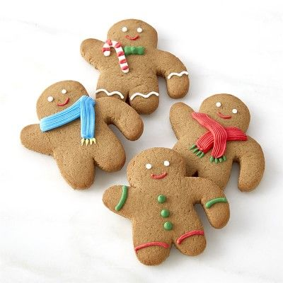 williams sonoma gingerbread folks mug toppers set of 4 williamssonoma