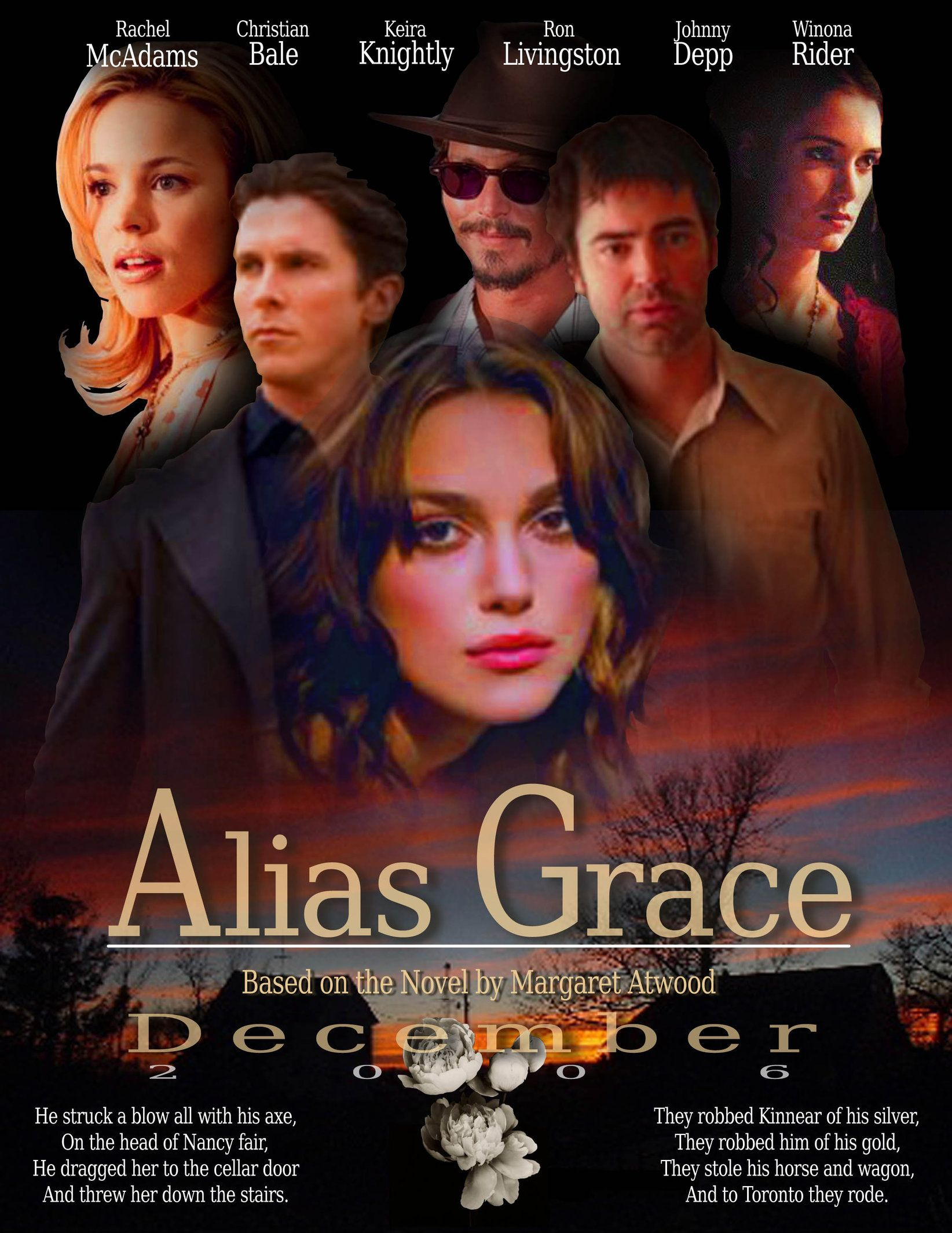 Alias Grace Libro Alias Grace Canadian American Television Miniseries Just 4