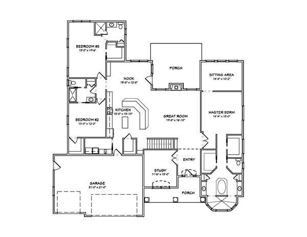 Prairie House Plans Home Design Mas1041 House Plans Floor Plans Contemporary House Plans