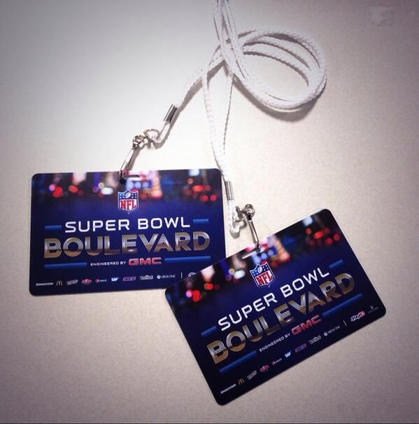 Super Bowl Boulevard passes