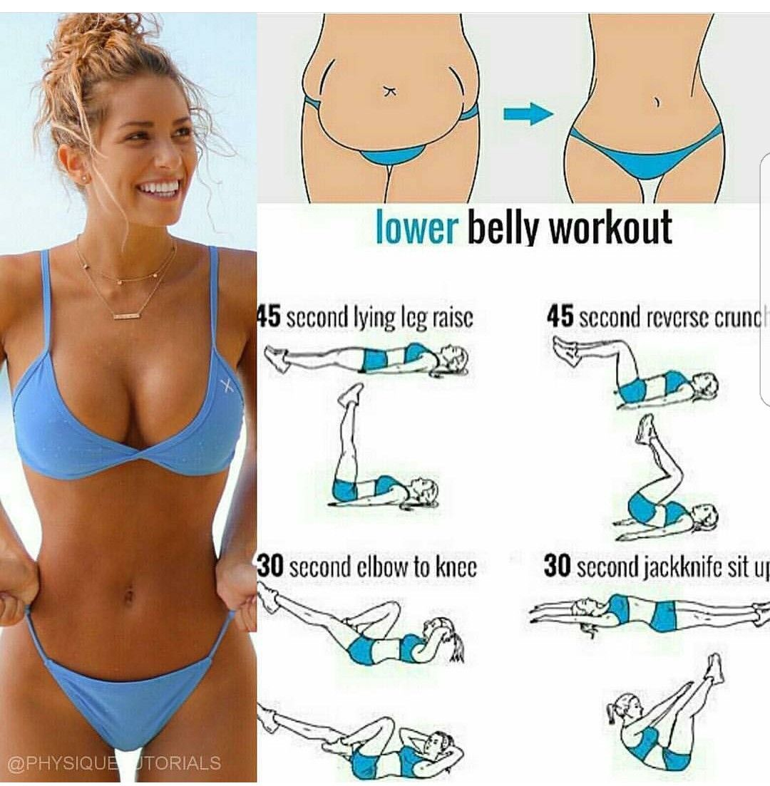 lower belly workouts