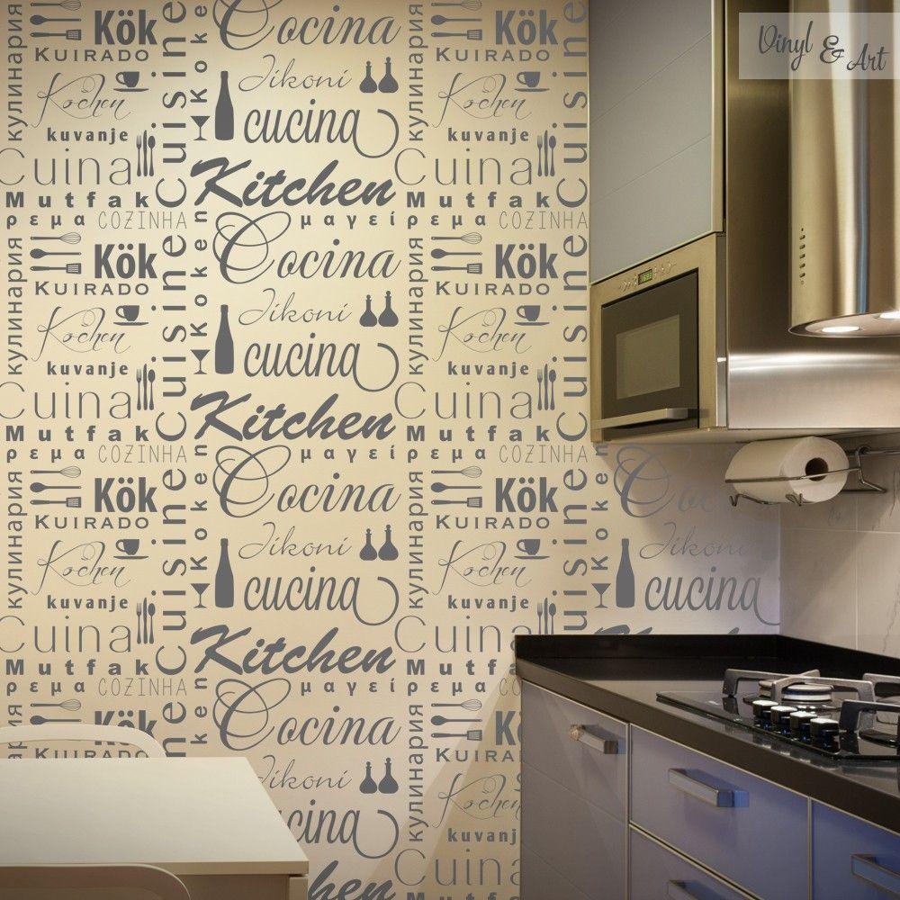 Vinilo Decorativo Cocina Internacional | Kitchen dining, Dining and ...