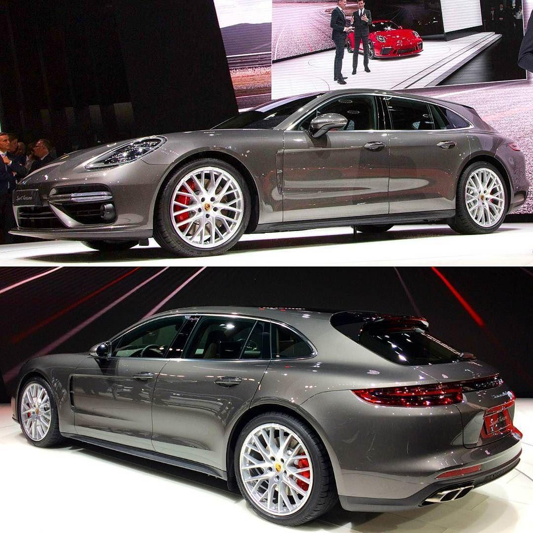 Porsche Panamera Sport Turismo 2018 Salão de Genebra