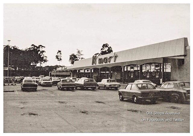 52a539b9595 Kmart, Fairfield West, NSW, 1974. Closed down in 1995 .. #sydney #ozhistory  #kmart #fairfield #fairfieldwest