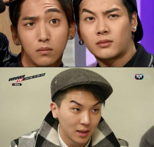 Baro and Jackson imitating Mino