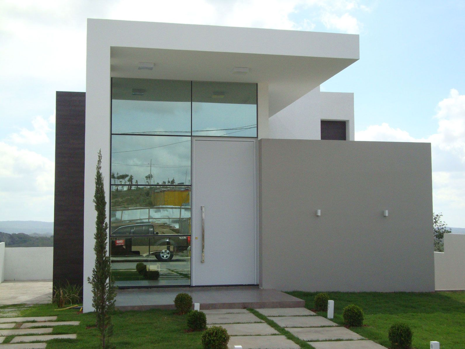 fachada-residencial-pele-de-vidro-structural-glazing | sweet home ...