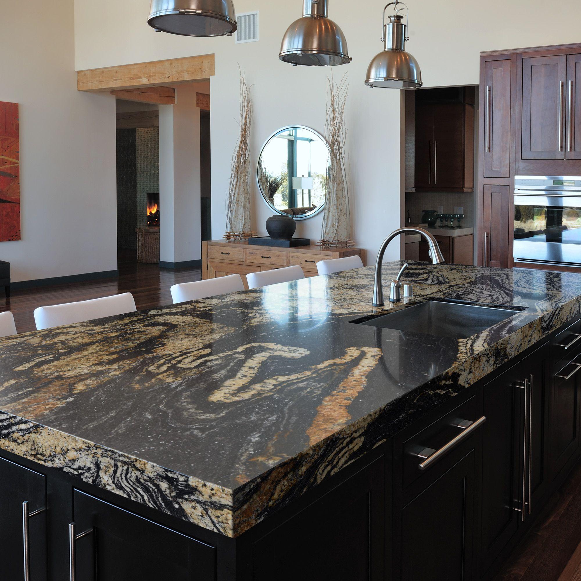 Granite Kitchen: Sensa By Cosentino - Orinoco Color