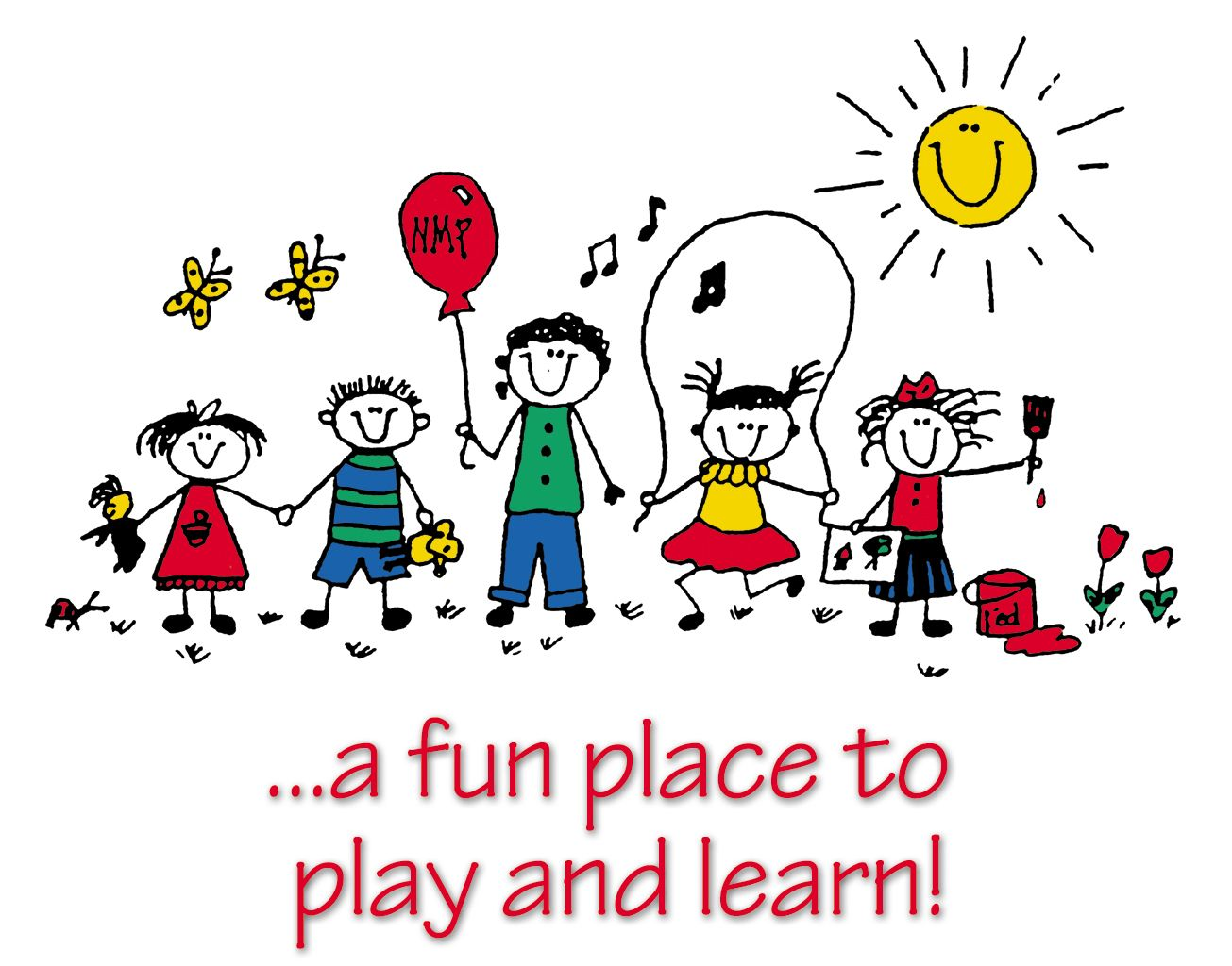 free daycare clipart child care kids club preschool summer camp camps 2010 paint it color it sing it  [ 1305 x 1024 Pixel ]