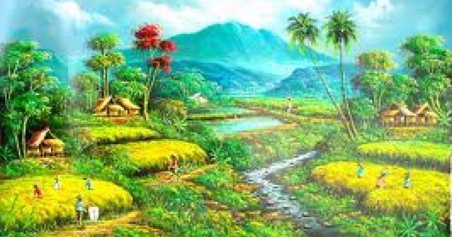 Menakjubkan 30 Lukisan Pemandangan Desa Yang Indah Berwisata Merupakan Salah Satu Cara Untuk Melepaskan Kepenatan Dari R Di 2020 Pemandangan Fotografi Alam Foto Alam