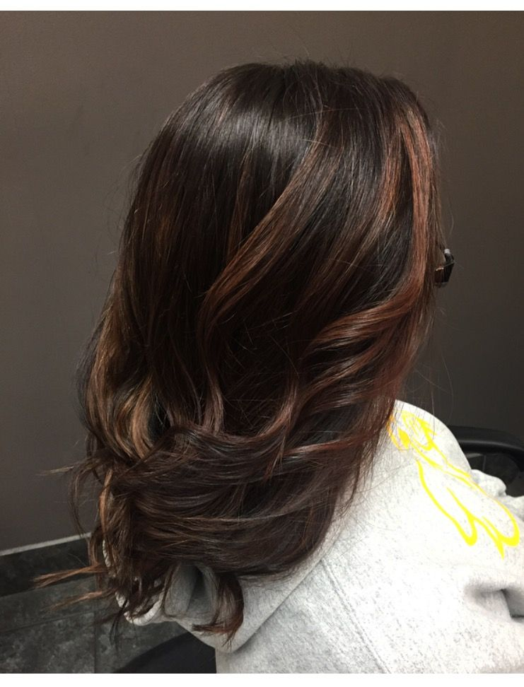 Warm Caramel Tones On A Level 4 Hair Hair Levels 2 Hair Color Tone Hair