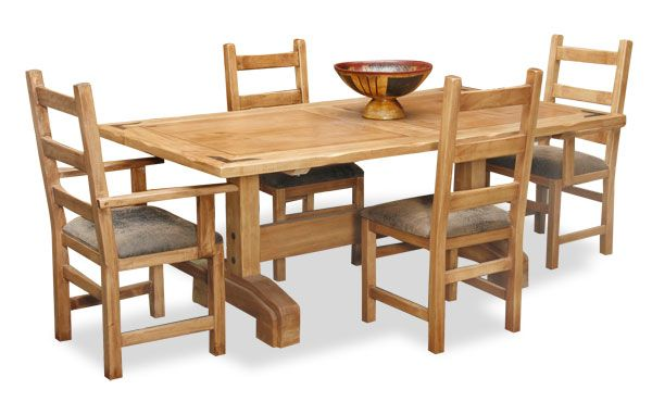 World Concepts Furniture Lodge Dining Table