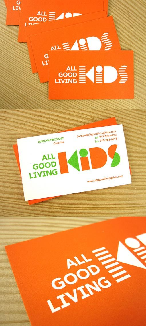 All Good Living Kids Business Card | Art Marketing | Pinterest ...