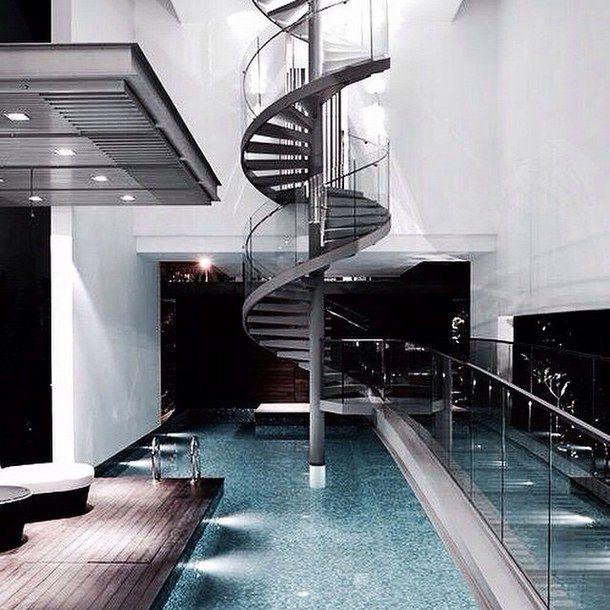 cold design goals home house indoor indoor pool interior - Cool House Indoor Pools