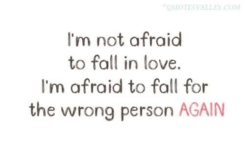 Scared To Fall In Love Quotes Interesting I Never Understood How Someone Could Be Afraid To Fall In Love Again