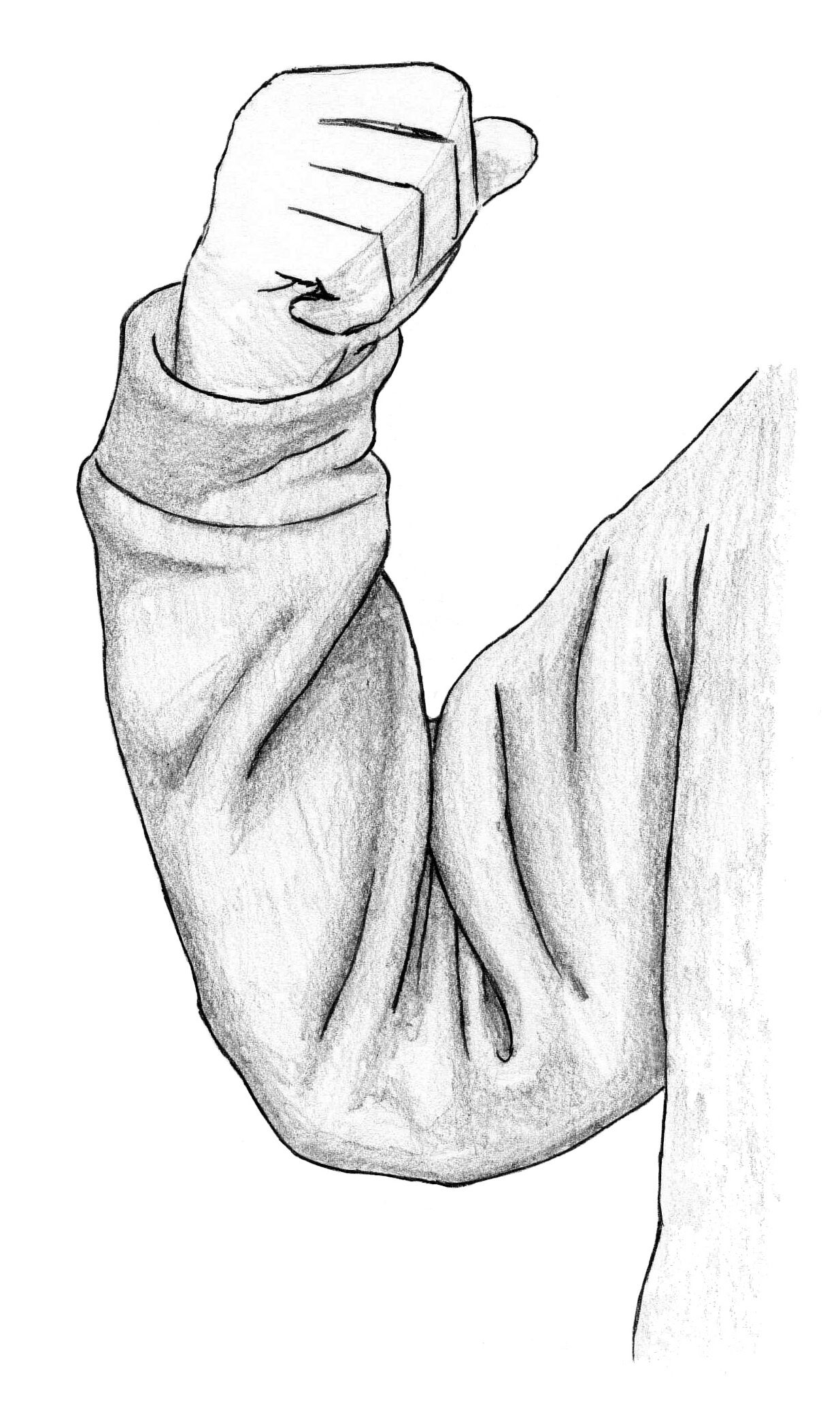 A beginners guide to drawing folds and clothes including the major types of folds and the full clothed figure