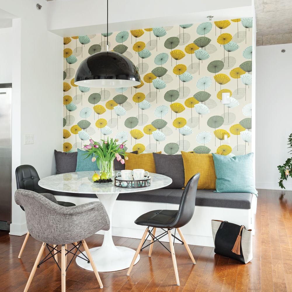 20+ Papier peint salon salle a manger inspirations