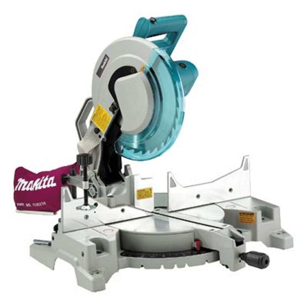Makita 15 Amp 12 In Corded Single Bevel Compound Miter Saw With 40t Carbide Blade And Dust Bag Compound Mitre Saw Miter Saw Miter Saw Reviews