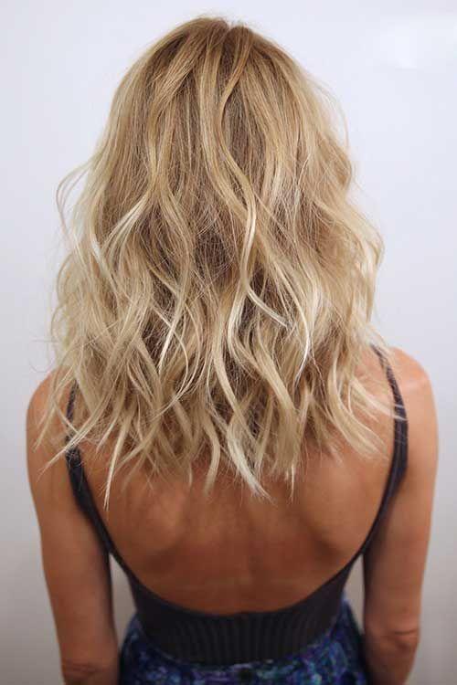 Blonde Haarfarbe Idee 20 Blonde Frisuren Schulterlang Frisuren Mittellanges Haar Blond Frisuren Schulterlang